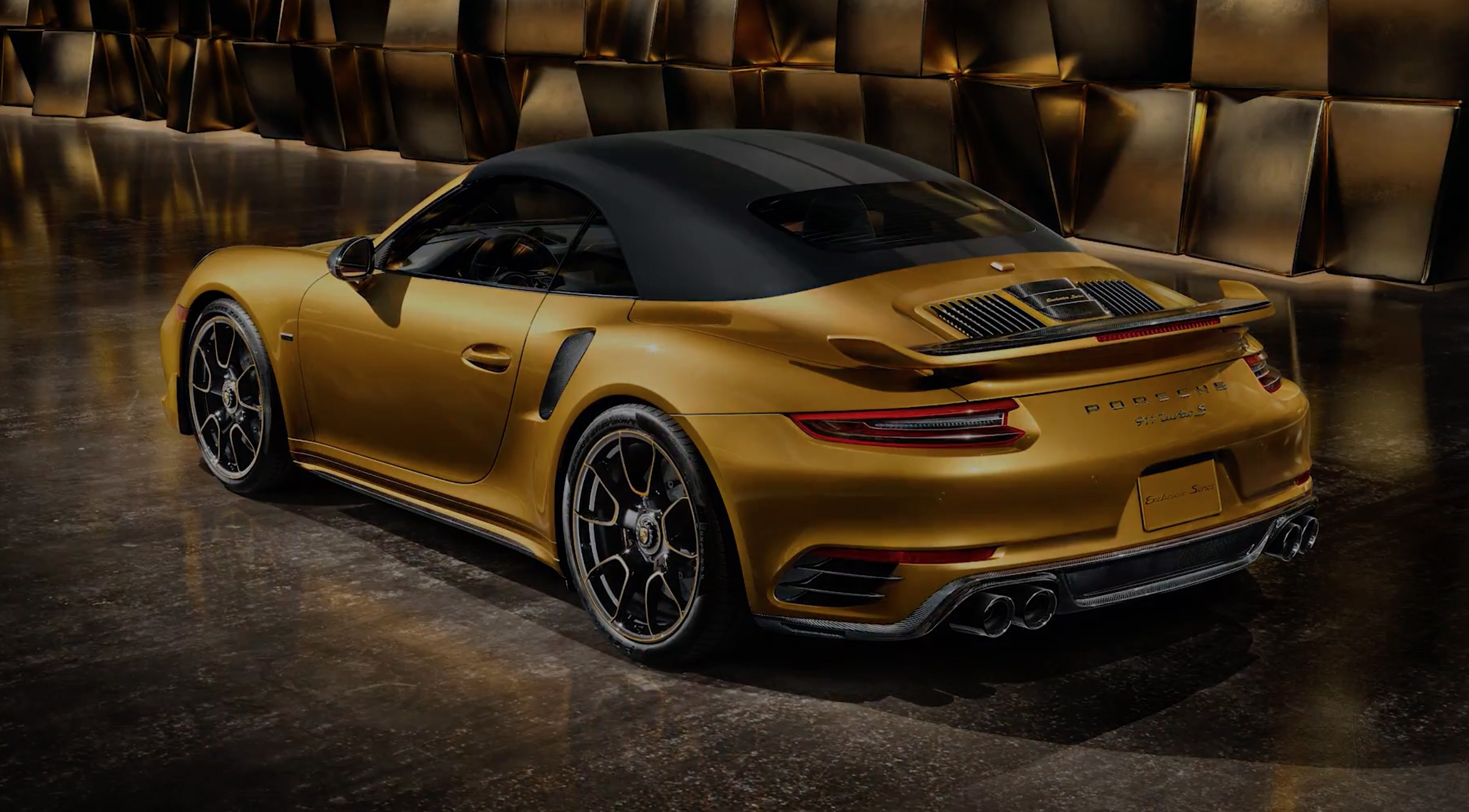 Porsche 911 Turbo s exclusive series Cabriolet
