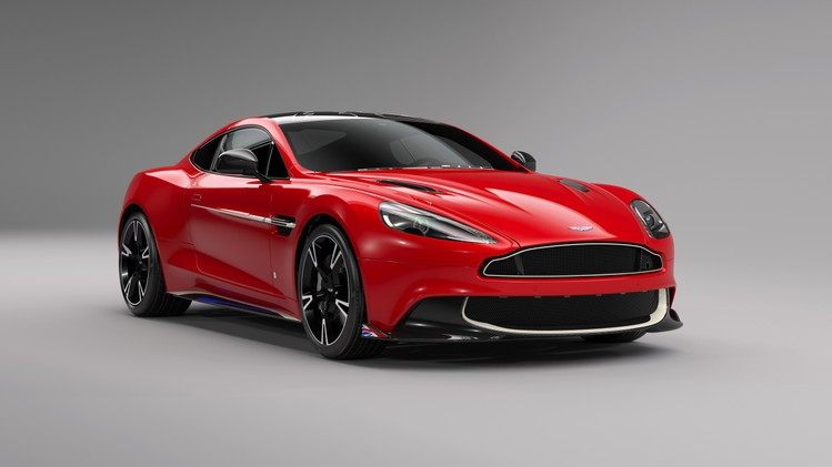 Aston Martin Vanquish S Red Arrows - Autovisie.nl