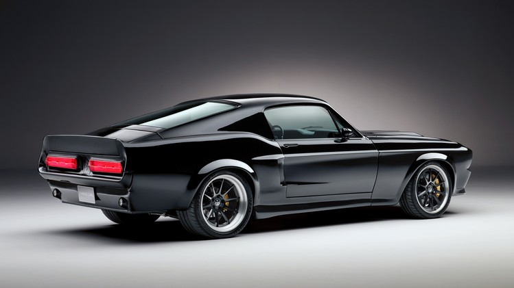 Charge.Cars 1967 Mustang fastback