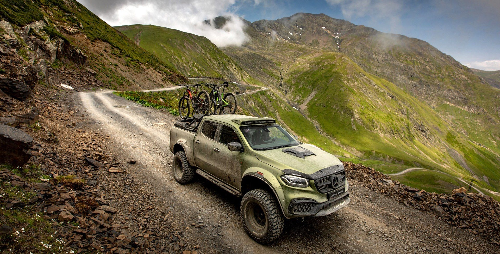 Mercedes Benz X Klasse Powerful Adventurer