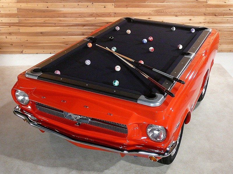 Ford Mustang pooltafel