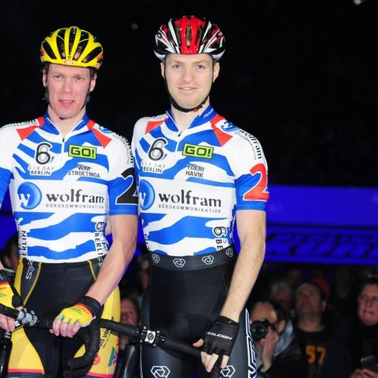 Yoeri Havik en Wim Stroetinga. © Hollandse Hoogte.