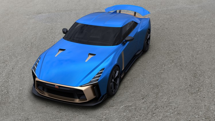Nissan GT-R50 Production Version - Exterior Image 3-source