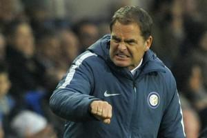 De druk op Frank de Boer neemt toe bij Internazionale. © Hollandse Hoogte