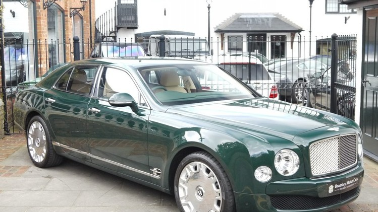 Bentley Mulsanne van Queen Elizabeth II