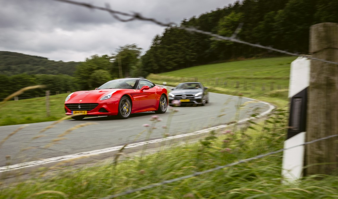 Ferrari California T HS vs. Mercedes-AMG SL 63