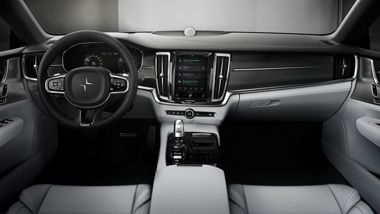 Polestar 1 interior, dashboard