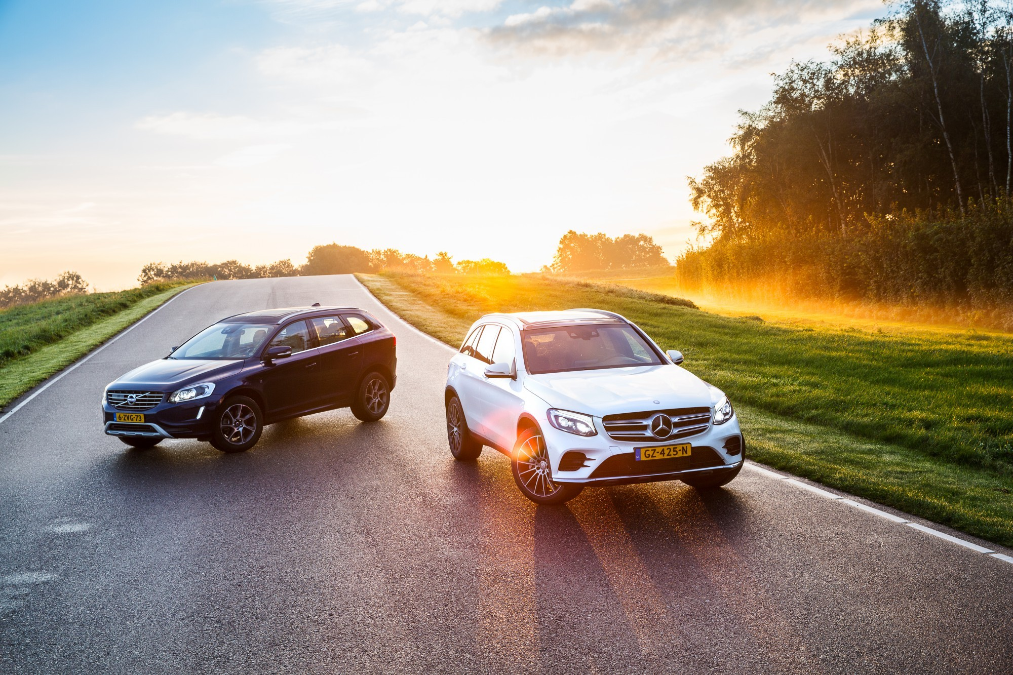 Dubbeltest CX60 VS GLC-1