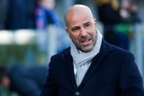Ajax-trainer Peter Bosz. © Hollandse Hoogte