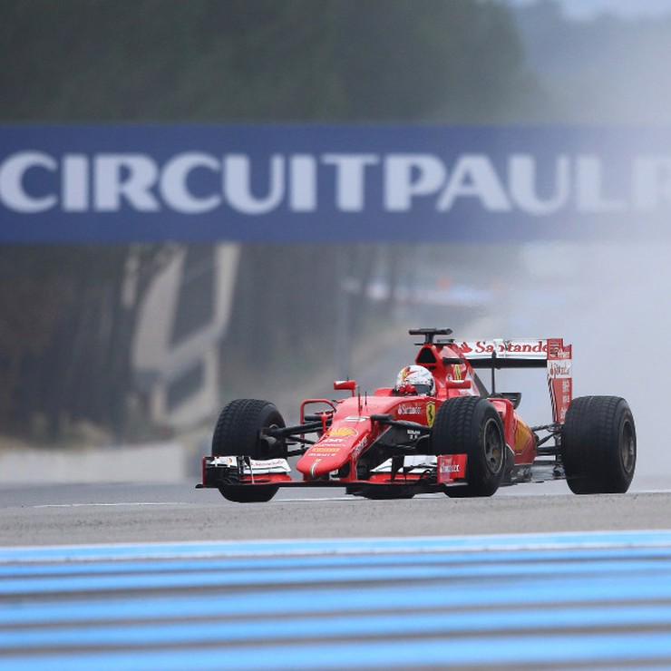 Op Paul Ricard wordt door F1-teams nog geregeld getest. © AP